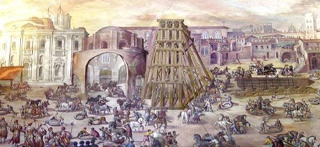 Transport of Vatican Obelisk (1586)